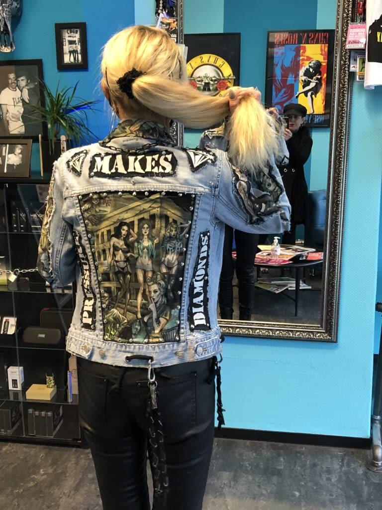 Style Shock - About us - Bespoke Custom Jeans Jacket & Customer