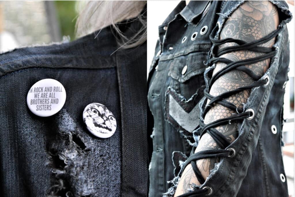 Style Shock - Bespoke Custom Clothing & Stage Wear - Jeans Jacket